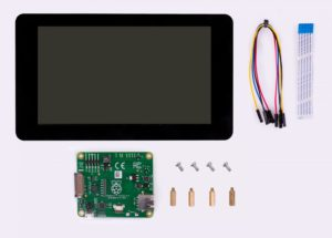 official Raspberry Pi 7″ touch screen display with 10 finger capacitive touch